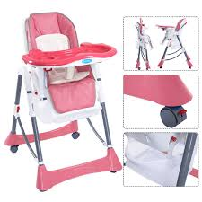 Portable Seat For Baby by Portable Folding Baby High Chair Toddler Feeding Seat High