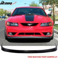 99 mustang bumper 99 04 ford mustang v6 v8 poly urethane front bumper lip spoiler gt