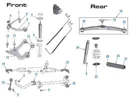 jeep liberty replacement suspension parts liberty suspension