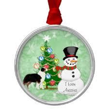 australian shepherd puppy ornaments u0026 keepsake ornaments zazzle