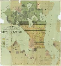 Seattle Maps by Territorial Growth Of Seattle 1891