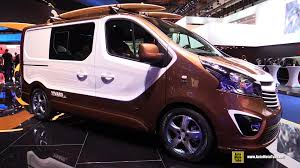 opel movano 2015 2016 opel vivaro surf concept vehicle exterior and interior
