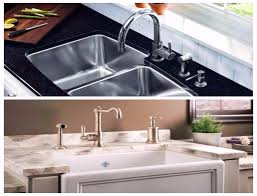 Kitchen Porcelain Sink Stainless Steel Sink Vs Porcelain Sink What S The Difference