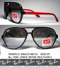 ray ban cats rb4125 802 32