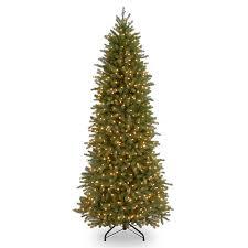 shop national 10 ft pre lit frasier fir slim rightside up