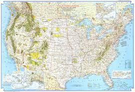 map of united states canada vacationlands of the united states and canada map