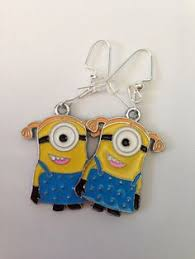 minion earrings another pair of minion earrings from despicable me 2