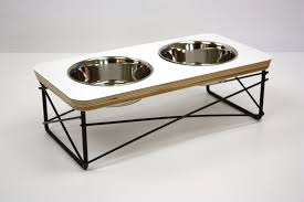 Modern Dog Furniture by Modern Pet Feeder Dog Bowl Or Cat Bowl Elevated Feeder Stand
