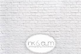 white photography backdrop vinyl photography backdrop 6ft x 7ft white brick wall photo