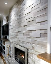 Fireplace Tile Design Ideas by Best 10 Wallpaper Fireplace Ideas On Pinterest Grey Feature