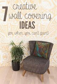Wallpaper To Decorate Room Best 25 Temporary Wall Covering Ideas On Pinterest Starch