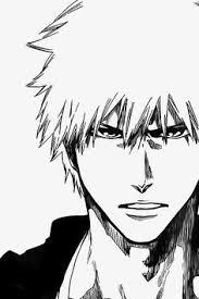 anime manga bleach character ichigo drawing of ichigo who ever