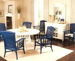 rattan kitchen furniture white wicker kitchen chairs traditional wooden dining table