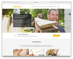 renovation theme 30 best construction company wordpress themes 2018 colorlib