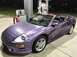 purple mitsubishi eclipse spyder contest winners