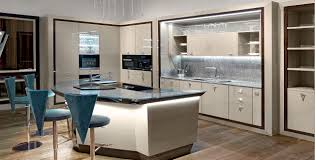 contemporary kitchen glass wooden island opera 30