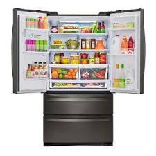 home depot black friday refrigerator lg electronics 26 8 cu ft french door refrigerator in black