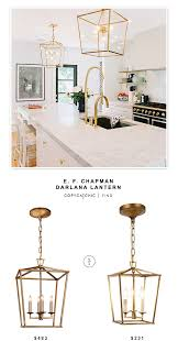 Lantern Pendant Lights E F Chapman Darlana Lantern Copycatchic