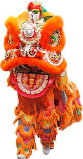 lion dancer book festival lion isolated stock photo by nobacks