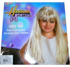 Hannah Montana Halloween Costume Hannah Wig Hair Wig Long