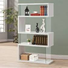 White Modern Bookshelves by Modern Bookcase Home Pinterest Modern