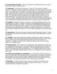 consignment contract for artists and crafts people ask harriete