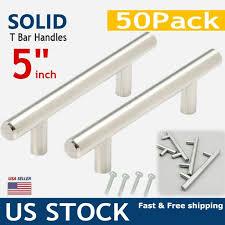kitchen cabinet door handles walmart 50 pcs 5 stainless steel kitchen cabinet door knob t bar drawer handle pulls