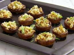 rice stuffed mushrooms recipe food network