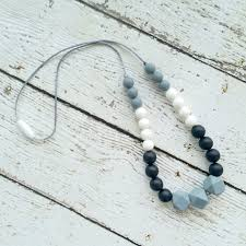 silicone necklace teething images Silicone teething necklaces roasted jpg