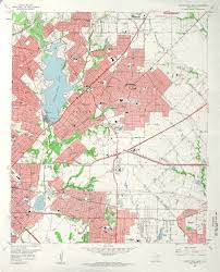 Smu Map Who Wants To See A 1957 Map Of White Rock Lake D Magazine