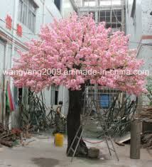 Cherry Blossom Tree Centerpiece by China Popular Pink Artificial Fake Sakura Tree Centerpiece China