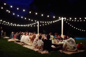 Backyard Party by Best 20 Outdoor Party Lighting Ideas On Pinterest Outside Party