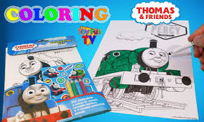 thomas friends percy coloring book thomas tank engine