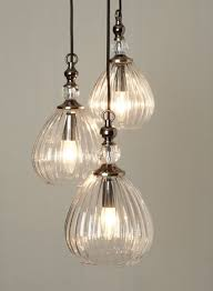 British Home Stores Lighting Chandeliers Mirielle 3 Light Cluster Clusters Ceiling Lights Home