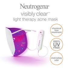does neutrogena light therapy acne mask work qoo10 illumask cosmetics