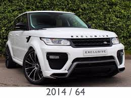 land rover sport used land rover range rover sport suv 3 0 sd v6 hse 4x4 5dr start