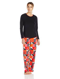 hue sleepwear s artic wave fleece pajama set s