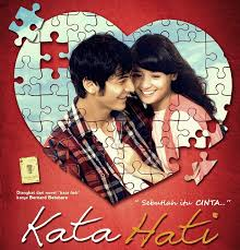 poster film romantis indonesia film romantis indonesia terbaik kata hati 2013 movies