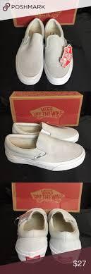light gray vans womens new authentic vans unisex shoes nwt unisex vans and van shoes