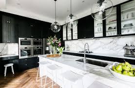 white and black kitchen ideas white and black kitchens donatz info