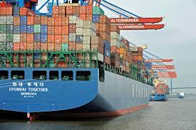 germany cta handles its first 13 000 teu ship world maritime news