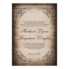 wooden wedding invitations rustic barn wood wedding invitations rustic country wedding