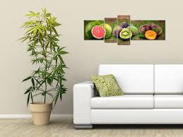 toile deco cuisine tableau déco fruité sur toile imprimée décoration murale cuisine