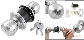 Lock For Growing In A Bedroom Design And Location UK - Bathroom door knob with lock