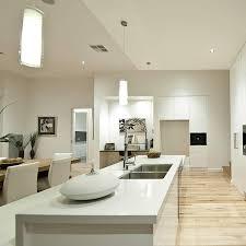 melbourne sloping block builder split level homes bh prestige display home kitchen
