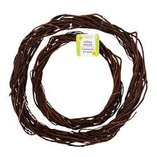 brown floral wire bulk brown willow wreaths at dollartree