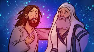 jesus and nicodemus clipart clipartxtras