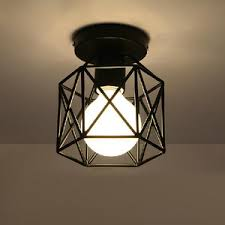 wrought iron ceiling lights wrought iron semi flush ceiling light drum fabric shade