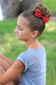 hairstyles for gymnastics meets pancaked bun of braids updo hairstyles cute girls hairstyles