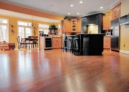 kitchen cabinets on top of floating floor how to install laminate flooring around kitchen cabinets